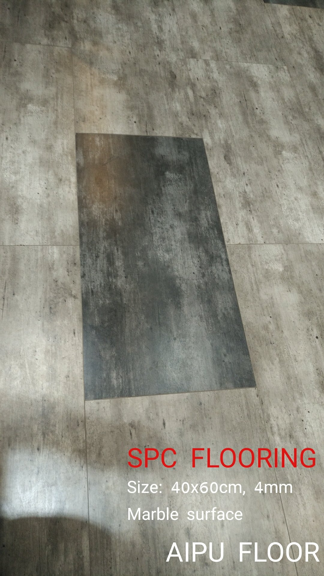 Marble color spc floor